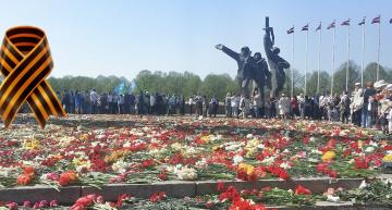 Акция «Георгиевская ленточка» в Риге, 9 мая 2016